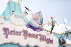 Peter Pan's Flight // Fantasyland // Magic Kingdom // by Alix Cherry of cherryblossomgirl.com