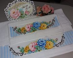 Stencils, Decorative Boxes, Lily, Embroidery, Stitch, Tableware, Painting, Inspiration, Instagram