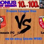 Prediksi Pertandingan Stade Rennais FC Melawan Lens 5 Oktober 2014 France Ligue One