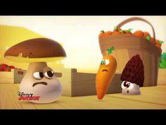 A table les enfants ! - Le Champignon - Episode en entier - Exclusivité Disney Junior ! - YouTube