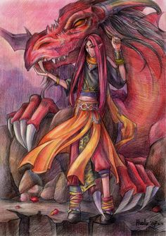 Dragon by Haalu.deviantart.com on @deviantART
