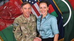 Contrite ... General David Petraeus with Paula Broadwell