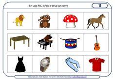 Fichas de razonamiento para niños para Educación Infantil Diy Birthday, Birthday Gifts, Familia Y Cole, Hidden Pictures, Thinking Skills, Activities For Kids, Math, Speech Pathology, Ideas