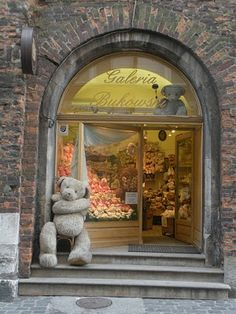 One of my favorite stores in Krakow