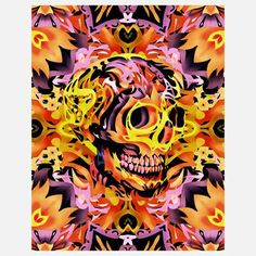 Skull 5 Print, $29, now featured on Fab.
