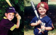 Jacoby Ellsbury & Dustin Pedroia as Little Leaguers