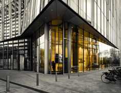 Bauporte Design Entrances BV - Project - Tallest Full Vision Revolving Doors in the World. The Rock, Amsterdam, The Netherlands