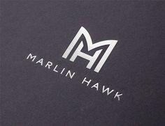 The Allotment Rebrands Recruitment Consultancy, 'Marlin Hawk' - Logo Designer Monogram Design, Monogram Logo, Lettering Design, Logo Inspiration, Grafic Design, Hope Logo, Logo Branding, Branding Design, H Logos