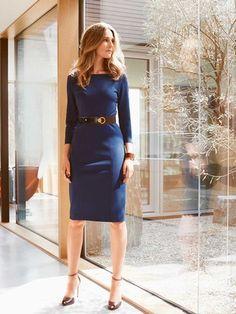 burda style, Schnittmuster zum Download - Jerseykleid mit geometrischen Teilungsnähten. Nr. 124 C aus 08-2015. Foto: Mitch