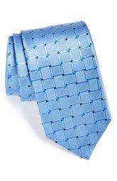 David Donahue Silk Geometric Tie