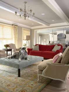 Spaces Red Couches Design, Pictures, Remodel, Decor and Ideas - page 4