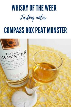 Tasting notes for the Compass Box Peat Monster Blended whisky Blended Whisky, Japanese Whisky, Whisky Tasting, Malt Whisky, Scotch, Cigar, Compass, Whiskey, Scotland