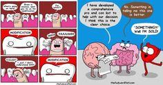 30 Cute Comics From The Awkward Yeti Funny Pics lol meme memebase memehumor