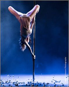 I do not care what anyone else thinks, but pole dancing is an amazing art form when done properly.