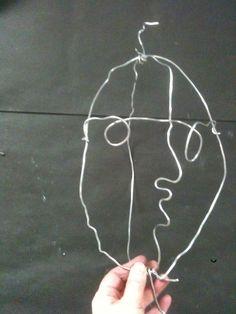 Calder wire portrait lesson