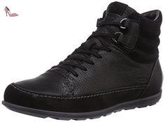 Ecco Cayla 23953351052, Baskets mode femme - Noir (Black/Black/Quarry), 38 EU