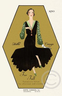 Gorgeous Art Deco Designer fashion Hattie by DragonflyMeadowsArt, $25.00