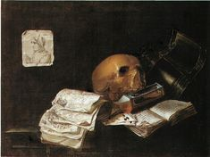 N. L. Peschier (Holanda, activo c. 1660). Vanitas.