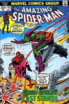 Amazing Spider-Man #122. The death of the Green Goblin.   #SpiderMan #GreenGoblin