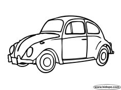 Auto Mobile coloring page