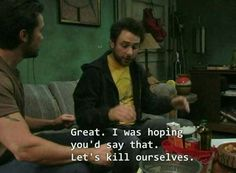 Charlie Day Quotes added a new photo — with Bitches With Attitude. Charlie Kelly, Charlie Day, Sunny In Philadelphia, Film Quotes, I Feel Good, Reaction Pictures, Utila, I Laughed, Laughter