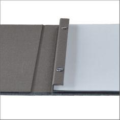 Inkjet Printed Stab Bound Portfolio Book