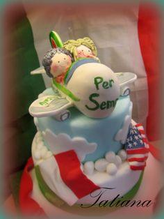 CAKE RITORNO ITALIA/ AMERICA