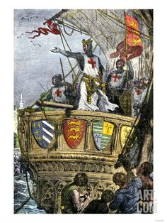 Richard I's Farewell to the Holy Land