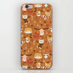 Forest Friends iPhone Skin by paulamcgloin Forest Friends, Iphone Skins, Online Gifts, Seaweed, Ipod, Illustrator, Irish, Ships, College