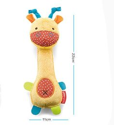 Pet Dog Chew Toys BB Audible Airbg Bell Plush Toys for Small Dogs Samll Dinosaur Shape * Click image for more details.(This is an Amazon affiliate link and I receive a commission for the sales)