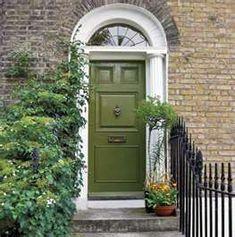 I like the olive door