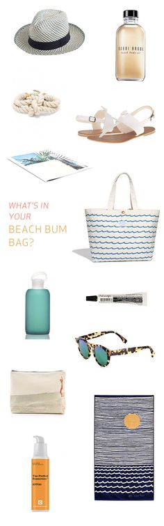what to pack for the beach - beach bag essentials