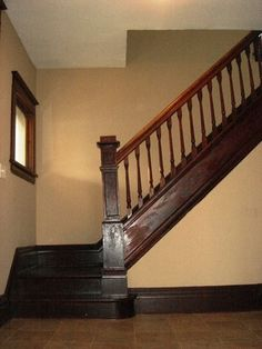 Staircase More Stairs Foursquare Foyers Staircase American Foursquare
