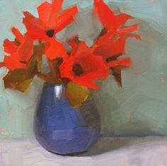 """Red Explosion"" by Carol Marine"