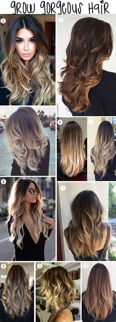 Grow long beautiful shiny hair for summer.