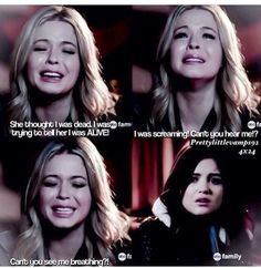 Who Cried during this scene