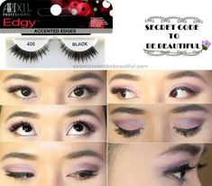 205a891dd0a Ardell Edgy Lashes 406 – Super Natural Cat Eye Lashes with Accentuated  Edges.