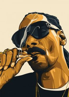 Snoop Dogg by Carmela Embanecido Arte Do Hip Hop, Hip Hop Art, Dope Cartoons, Dope Cartoon Art, Arte Dope, Dope Art, Snoop Dogg Music, Snoop Dogg Weed, Desenho New School