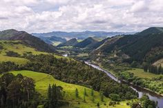 Whanganui River Valley