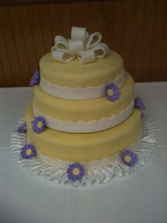 My cousin's bridal shower cake