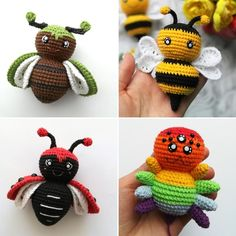 Crochet Animal Patterns, Crochet Doll Pattern, Stuffed Animal Patterns, Crochet Patterns Amigurumi, Crochet Dolls, Doll Patterns, Crocheted Toys, Amigurumi Toys, Stuffed Animals