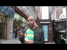 What song are you listening to?    Tyler Cullen went out on the streets of NYC and asked random passers-by what song they were listening to on their headphones. - this is fantastic. some of the responses are so surprising.