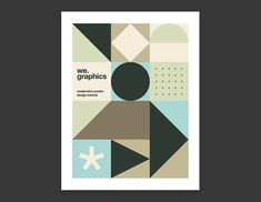 Design a Modernism Inspired Poster from Scratch with Illustrator - WeGraphics Helvetica Neue, Some Text, Rectangle Shape, Better Together, Modernism, Geometric Shapes, Swatch, Product Launch, Graphic Design