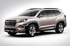 the Subaru Viziv-7 concept, and it's the big seven-seat SUV America wants and needs so bad. Finally, a big Subaru! This thing is going to print money.