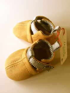 Jayne Baby Leather Soft Sole Shoes