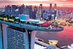 Sands Singapore, Singapore City, Visit Singapore, Singapore Travel, Singapore Vacation, Singapore Garden, Rooftop Lounge, Rooftop Restaurant, Garden Bar