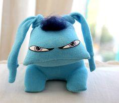 Blue Garbidog | by boo-ba dolls