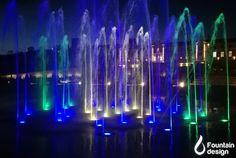 Water, Light & Music, Castel Mimi Winery Fountain Design, Light Music, Portfolio Design, Water, Interiors, Gripe Water