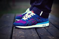 Asics GT-II - Purple/Navy