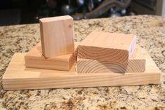 Photo Blocks using Rit Dye - Shanty 2 Chic Wood Block Crafts, Wood Craft Patterns, Wood Blocks, Wood Crafts, Glass Blocks, Diy Projects To Try, Wood Projects, Craft Projects, Craft Ideas
